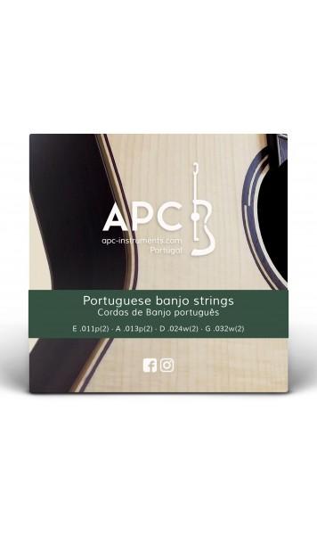 Cordas - Banjo Português (Bandolim)