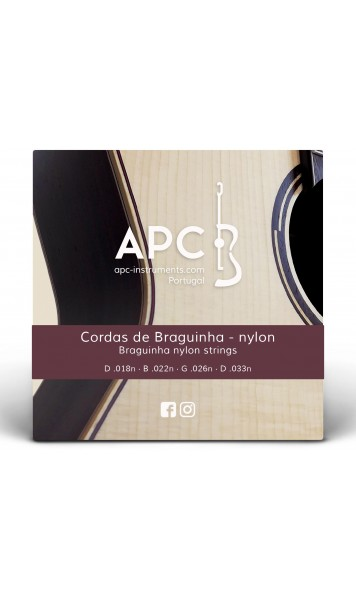 Cordas - Braguinha (NYLON)