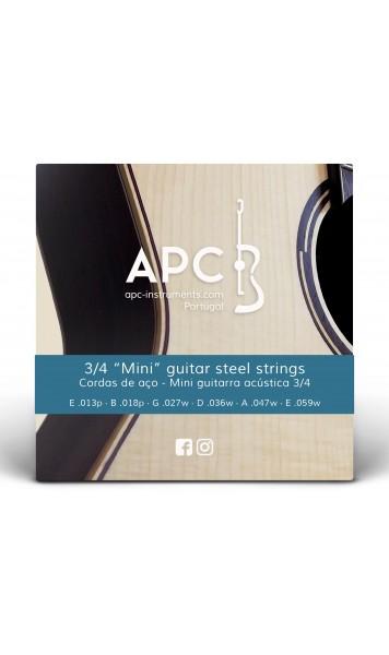 Cordas - Mini Jumbo - Guitarra Acústica - FOLK (Aço)