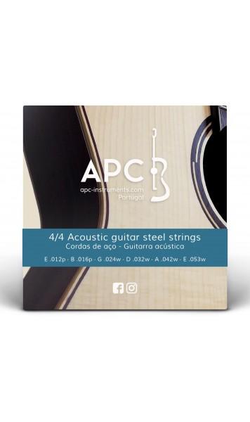 Cordas - Guitarra Acústica - FOLK (Aço)