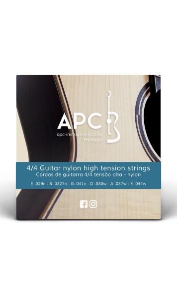 Cordas - Guitarra 4/4 - Tensão alta (NYLON)